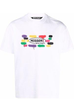 Palm Angels X Missoni Sport logo print T-shirt