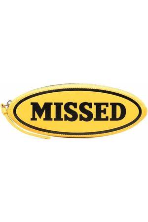 Palm Angels X Missoni Missed clutch bag