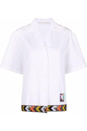 Palm Angels Short-sleeve bowling shirt