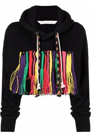 Palm Angels Women Hoodies - X Missoni Melting Logo cropped hoodie