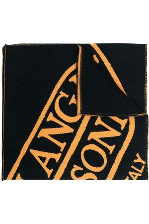 Palm Angels Heritage logo jacquard scarf