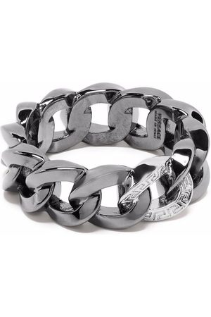 VERSACE Chain-link detail ring