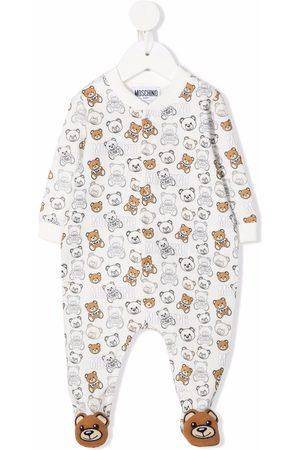 Moschino All-over teddy logo pajamas