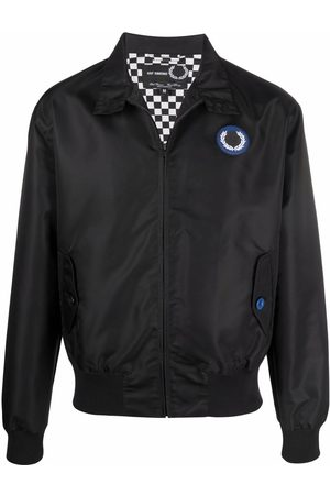 Fred Perry Bomber Jackets - Harrington patched bomber jacket
