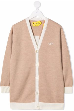 Off-White Kids Arrows-motif cardi-coat