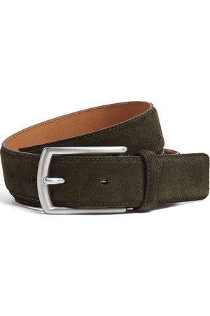 Ermenegildo Zegna Nubuck leather belt