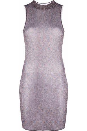 Missoni Metallic-knit bodycon dress
