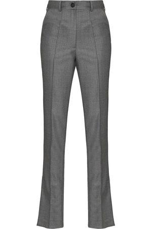 MATÉRIEL by Aleksandre Akhalkatsishvili Women Formal Pants - Side split tailored trousers - Grey