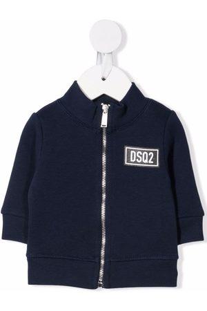 Dsquared2 Logo-patch cotton jacket