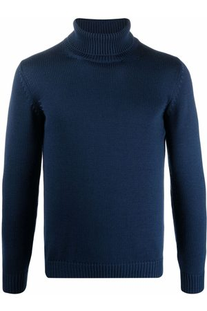 Roberto Collina Knitted roll-neck jumper