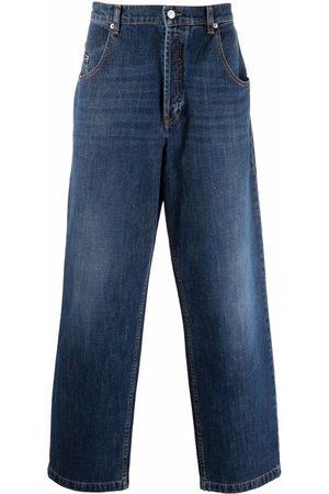 Kenzo Men High Waisted - High-rise wide-leg jeans