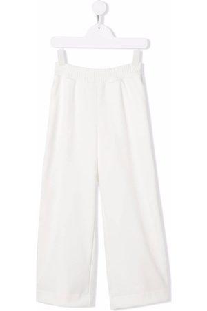 Fendi Wide-leg elasticated-waist track pants