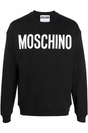 Moschino Logo-print crew-neck sweatshirt