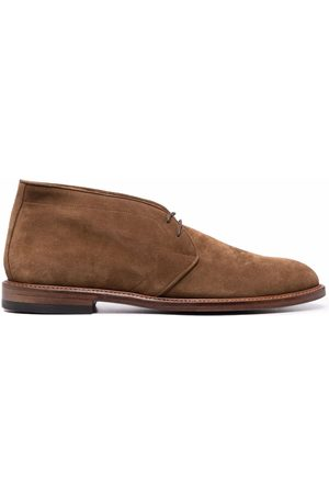 Paul Smith Lace-up suede desert boots
