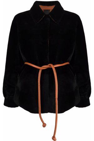 Blancha Reversible merino coat