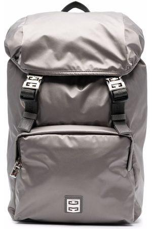Givenchy Men Rucksacks - Logo buckle backpack - Grey