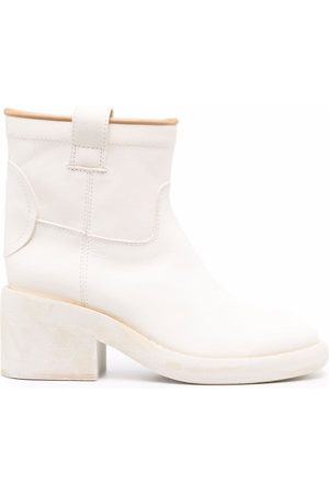 MM6 Maison Margiela Ankle-length block-heel boot