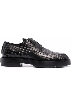 Givenchy 4G-motif lace-up derby shoes