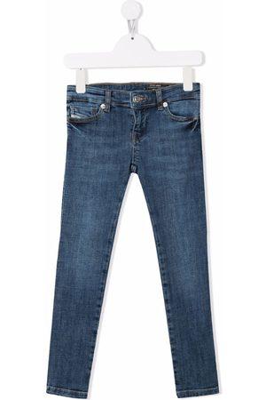 Diesel Mid-rise straight-leg jeans