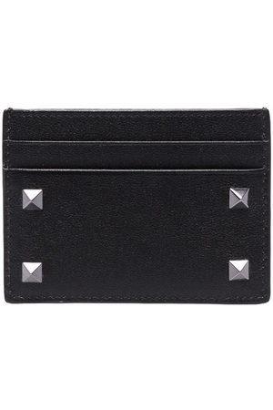VALENTINO GARAVANI Men Wallets - Rockstud-embellished cardholder