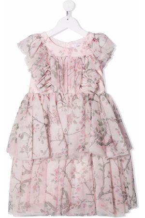 MONNALISA Ruffled-design dress