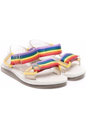 Mini Melissa Rainbow strap sandals
