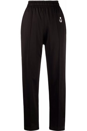 Isabel Marant Women Wide Leg Pants - Inaya wide-leg track pants