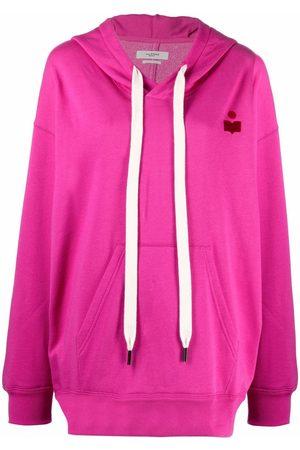 Isabel Marant Moline hooded fleece hoodie