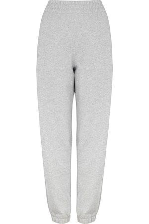 Alexander Wang Women Sweatpants - Grey mélange jersey sweatpants