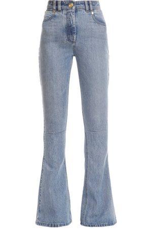 Balmain High-rise Flared-leg Jeans - Womens