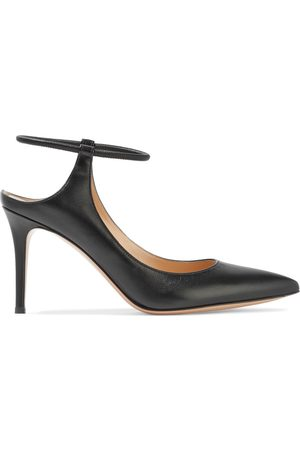 GIANVITO ROSSI Woman Karen 85 Leather Pumps Size 36.5