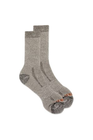 Merrell Men's Cushioned Heavyweight Hike Crew Sock, Size: M/L