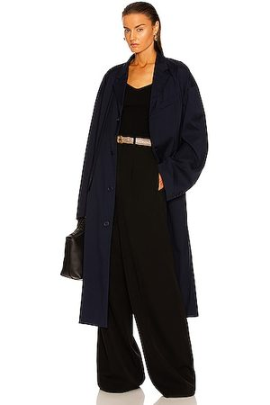 Balenciaga Tailoring Coat in Navy