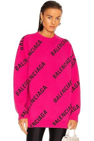 Balenciaga Long Sleeve Crewneck Sweater in