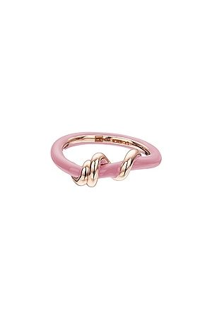 BEA BONGIASCA Baby Vine Wrapped Ring in