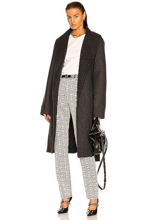 Givenchy Double Faced Coat in Grey