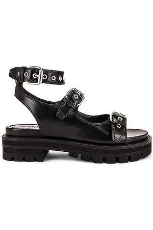 Alaïa Buckle Sandals in