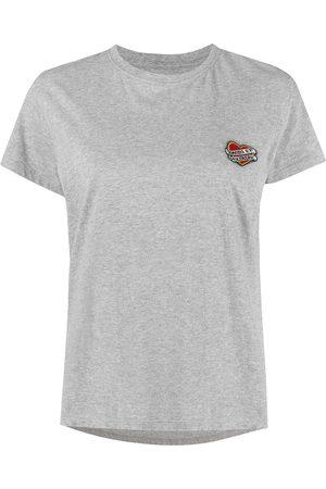 Zadig&Voltaire Women Short Sleeve - Tattoo-patch short sleeves - Grey