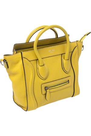 Céline Céline Leather Nano Luggage Tote
