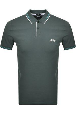 HUGO BOSS BOSS Paul Curved Polo T Shirt