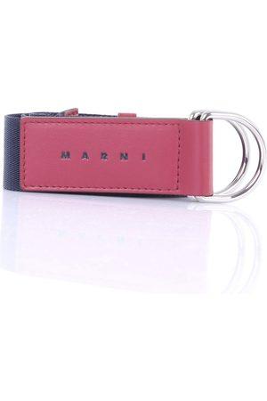 Marni Men Belts - Belts Men and burgundy