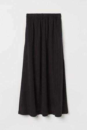 H&M Slit-detail Skirt