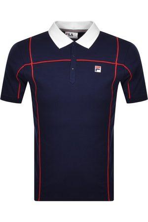 Fila Terrinda Polo T Shirt Navy