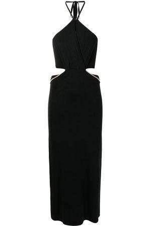 MANNING CARTELL Cut-out halter dress