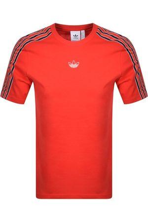 adidas Sport 3 Stripe T Shirt