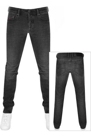 Diesel Sleenker Skinny Fit Jeans Grey