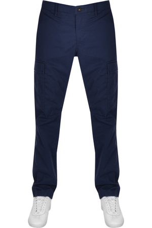 Timberland Twill Straight Cargo Trousers Navy