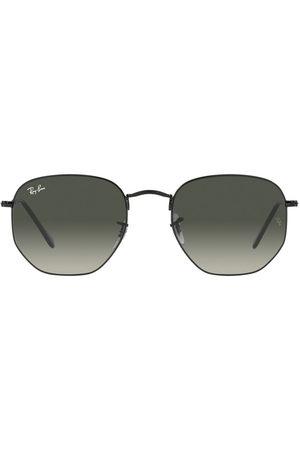 Ray-Ban Logo detail oversized sunglasses