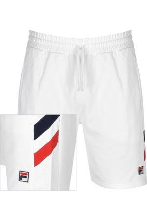 Fila Alley Double Stripe Sweat Shorts Whit