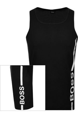 HUGO BOSS BOSS Beach Logo Vest T Shirt